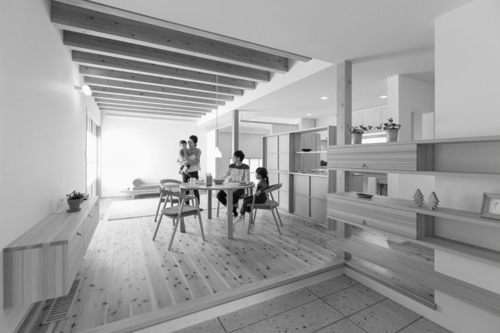塩屋新田の家|工務店がつくる木の家|上越・糸魚川・妙高の小さな邸宅|キノイエ|最高の地元ライフ|地元系ハウスメーカー|