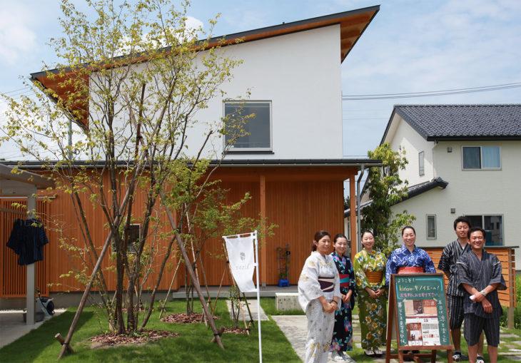 浴衣で見学会|キノイエ|新潟県上越市・妙高市・糸魚川市の注文住宅|木の家づくり工務店|