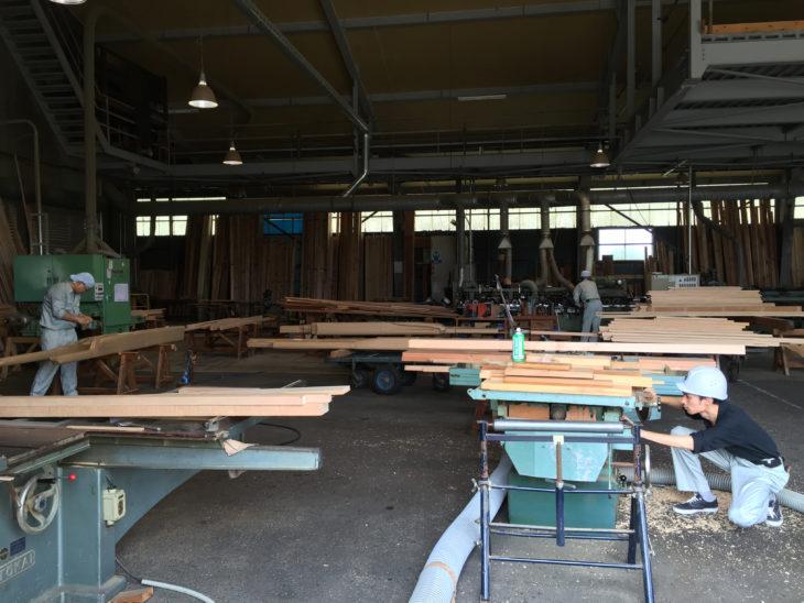 糸魚川市 製材工場