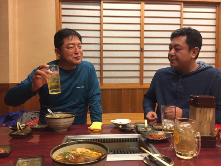 サンタクリエイト山田さんと紅久代表安田さん