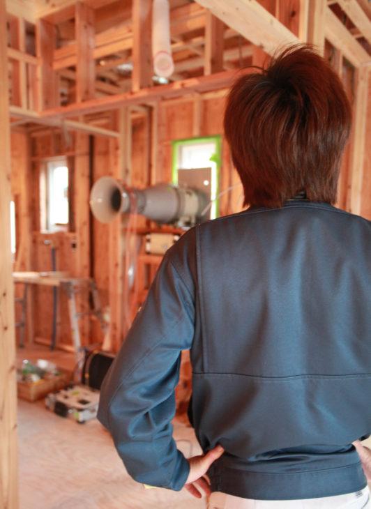 気密試験|キノイエ|新潟県上越市・妙高市・糸魚川市の注文住宅|木の家づくり工務店|