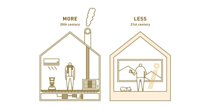 できる限り建物で解決しようとするのがパッシブハウス。設備で解決しようとするのがスマートハウス。設備はあとから足せますが、建物を直すのは大変です。パッシブハウスの考え方は、21世紀のスタンダードです。