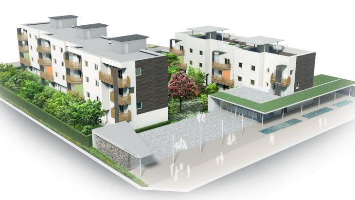 パッシブタウン 第3期街区|YKK提供