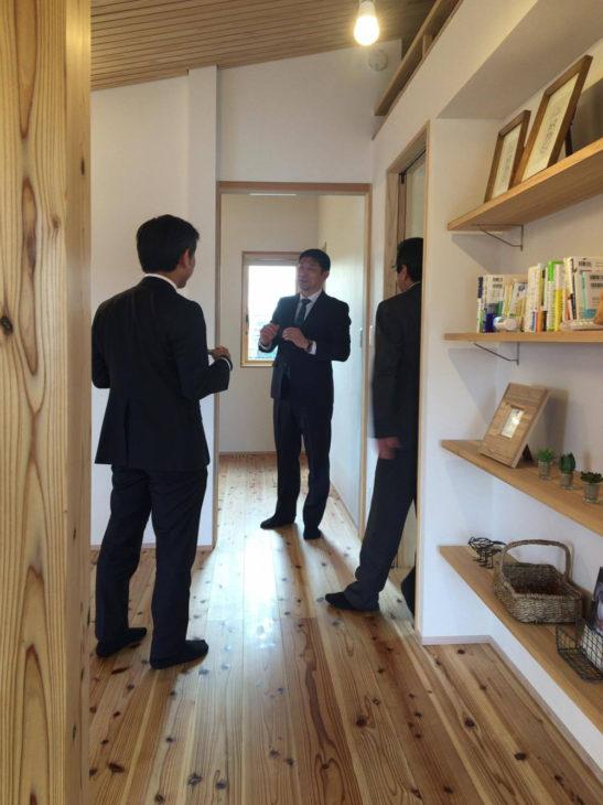 トラスト住建が視察に|キノイエ|上越・糸魚川・妙高の工務店|自然素材のハウスメーカー|