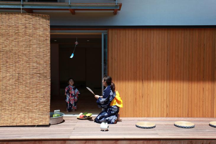 吉田兼好|夏|日本建築|注文住宅|工務店|上越|糸魚川|妙高|木の家|キノイエ