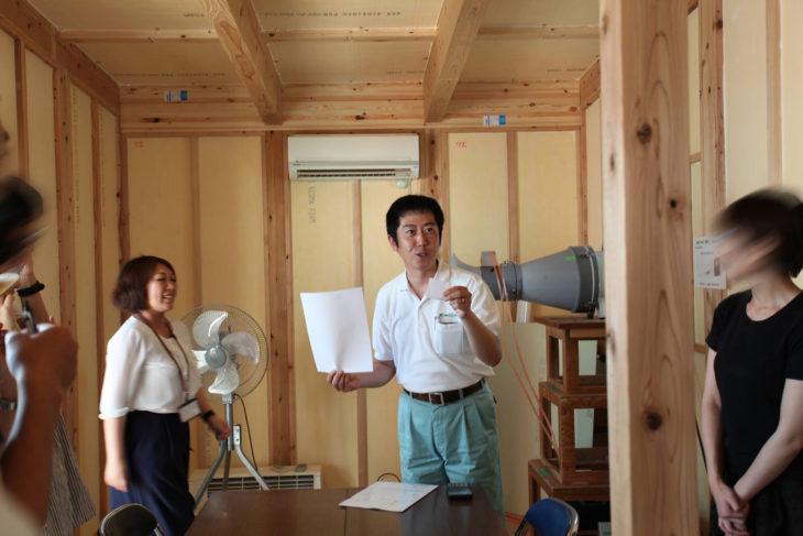 構造見学会|気密測定|上越・糸魚川・妙高で高性能エコハウス|木の家の注文住宅工務店|キノイエ|