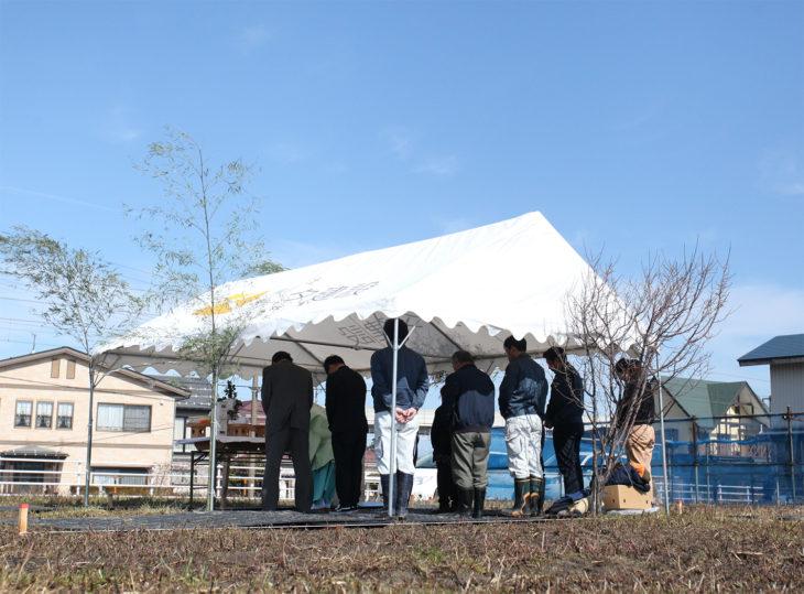 |上刈の家|地鎮祭|上越・糸魚川・妙高の工務店|新築・リフォーム|自然素材の注文住宅|キノイエ|カネタ建設|高気密高断熱|パッシブデザイン|