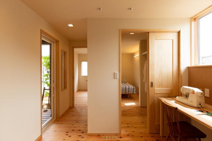 |西本町の家|建築事例|上越・糸魚川・妙高の工務店|新築・リフォーム|自然素材の注文住宅|キノイエ|カネタ建設|