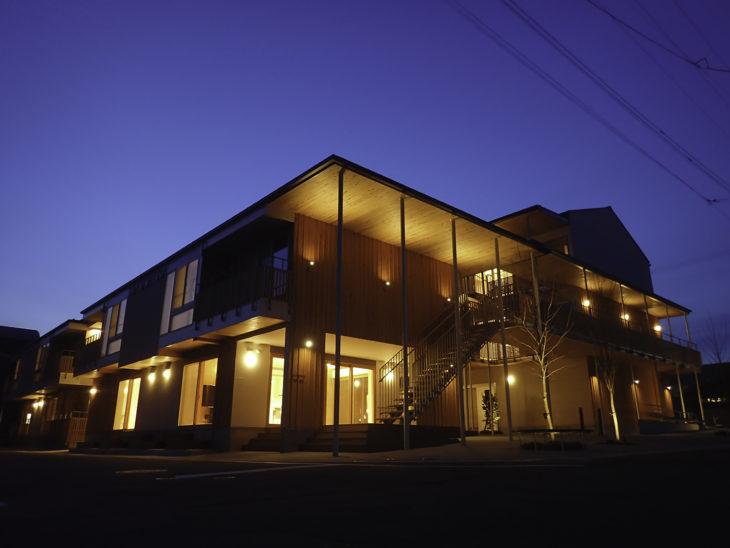 |糸魚川駅北復興住宅|上越・糸魚川・妙高の家づくり|木の家をつくる工務店|新築・リフォーム|自然素材の注文住宅|キノイエ|カネタ建設|高気密高断熱|パッシブデザイン|