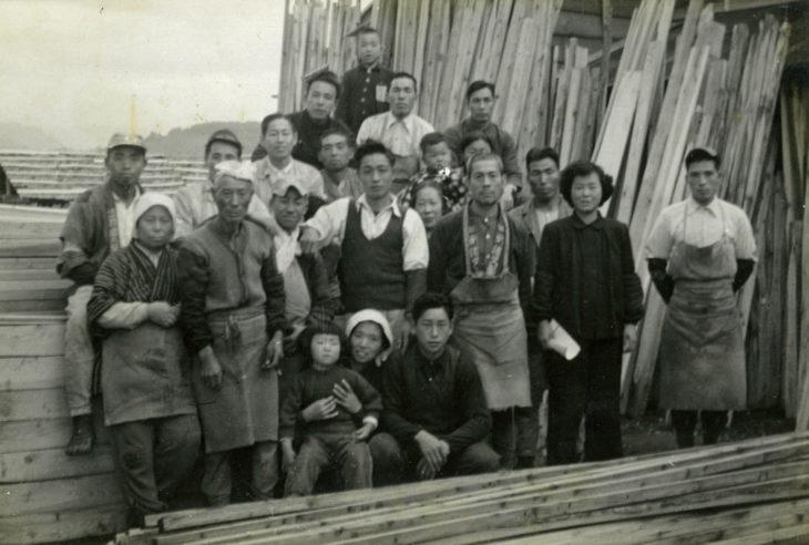 |創業時の写真|カネタ建設|上越・糸魚川・妙高の家づくり|新築・リフォーム|自然素材の注文住宅|