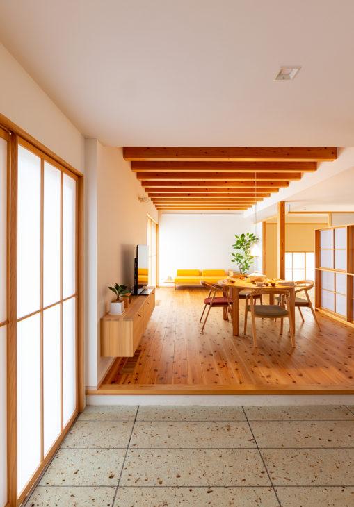 |塩屋新田の家|上越モデルハウス|思産価値のある家|上越・糸魚川・妙高の家づくり|木の家をつくる工務店|新築・リフォーム|自然素材の注文住宅|キノイエ|カネタ建設|高気密高断熱|パッシブデザイン|