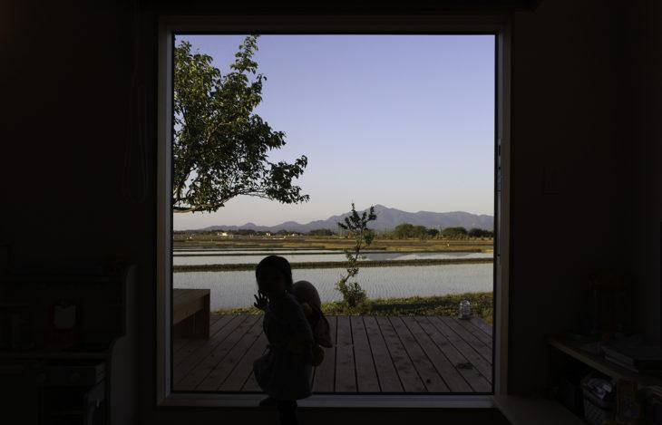 |頸城の家|オーナー様|フォトお便り|米山を望む家|上越・糸魚川・妙高の家づくり|木の家をつくる工務店|新築・リフォーム|自然素材の注文住宅|キノイエ|カネタ建設|高気密高断熱|パッシブデザイン|