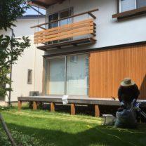 |キノイエ|モデルハウス|塩屋新田の家|上越|芝刈り|