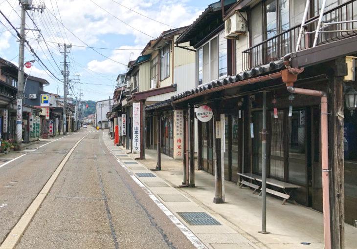 雁木通り全景|上越市高田|小さな邸宅キノイエ|カネタ建設