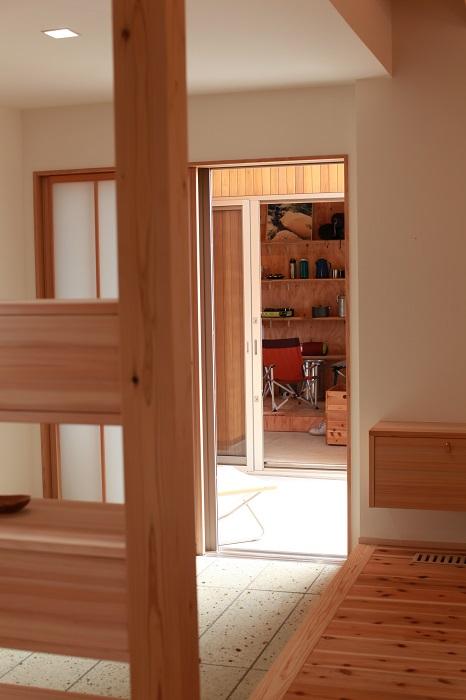 上越市|キノイエ|木の家|モデルハウス|リモートワーク|離れ|書斎|仕事部屋|趣味部屋